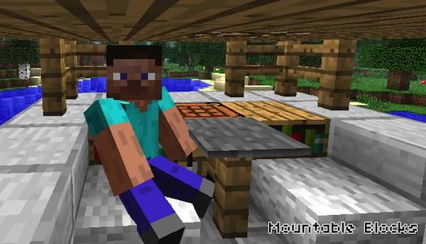 Mountable Blocks API for Minecraft 1 3 2 | Planeta Minecraft