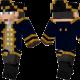 Navy Captain Skin for Minecraft