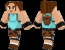 Lara Croft Skin for Minecraft