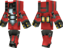 Starcraft SCV Skin for Minecraft