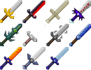 [1.6.2] More Swords Mod Download
