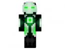 Robo Panda Skin for Minecraft