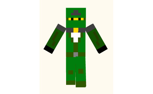 http://planetaminecraft.com/wp-content/uploads/2013/04/18339__Green-Ninja-Skin.jpg