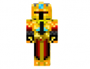 Golden Knight Skin for Minecraft