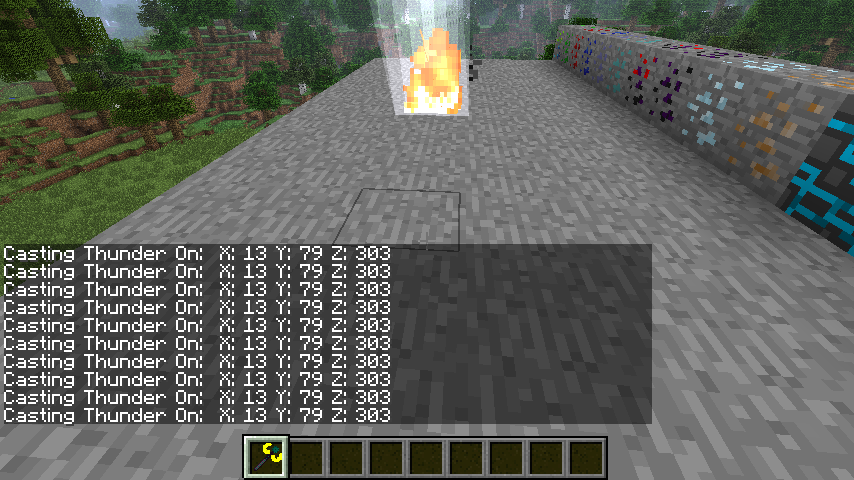 Wands and Ores Mod