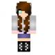 Adorable Brunette Girl Skin Download