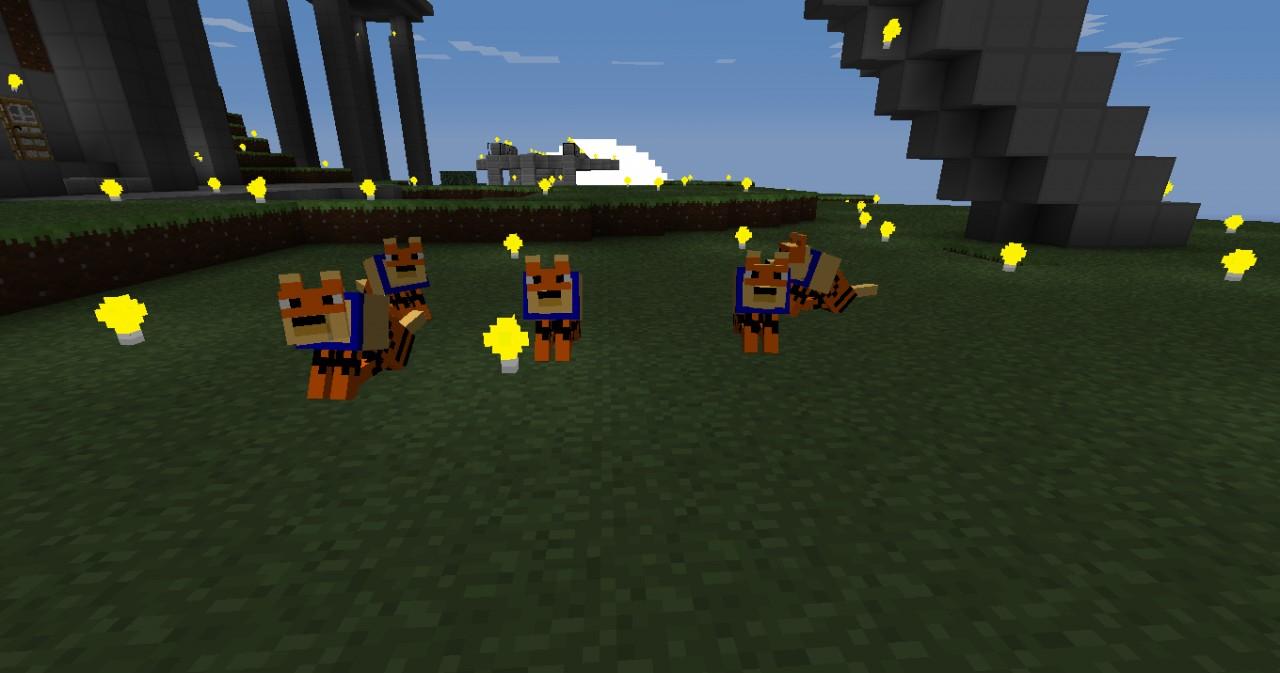 Скачать мод на покемонов для Minecraft 1.6.4