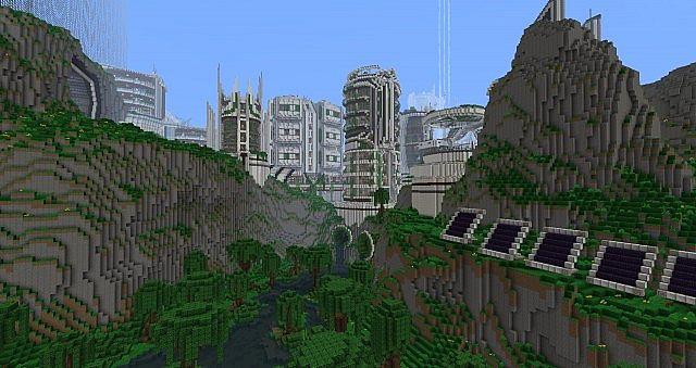 Teweran Survival Games 3 Futuristic City Map Download
