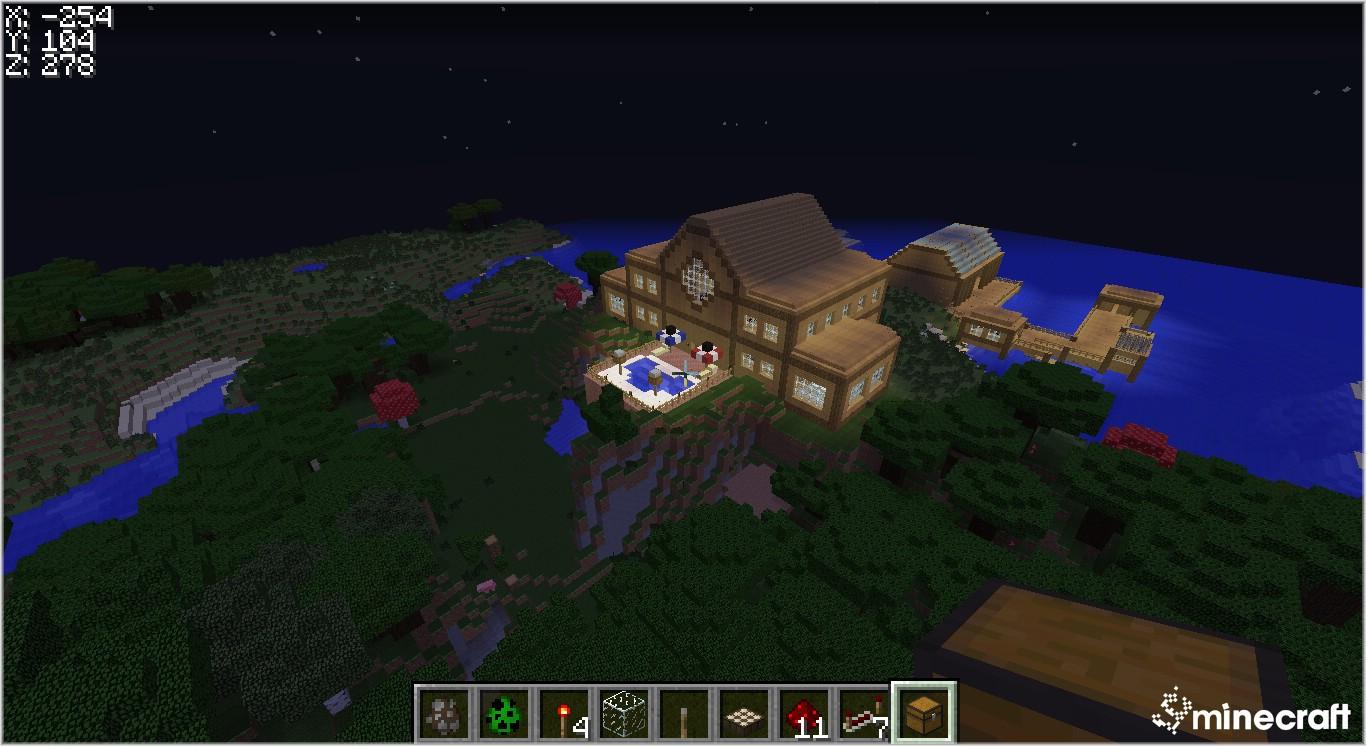 Скачять карту красівий дом для майнкрафт 1.7.2