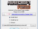 [1.7.2] Minecraft Forge (Installer) Download