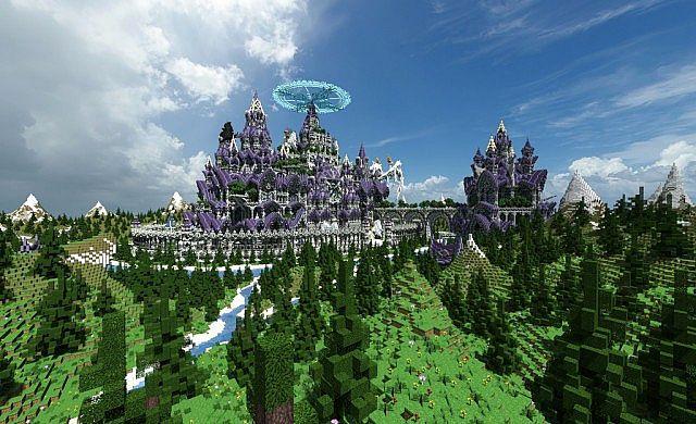 [1.7.10] Castle Spawn - Спавн для сервера Minecraft ...