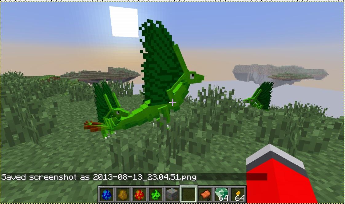 Моды на дракона майнкрафт