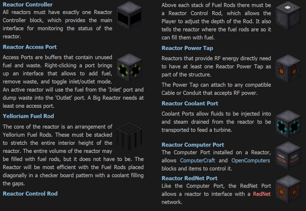 Big Reactors Mod Features 1