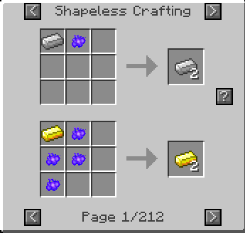 Mimicry Mod Crafting Recipes 2