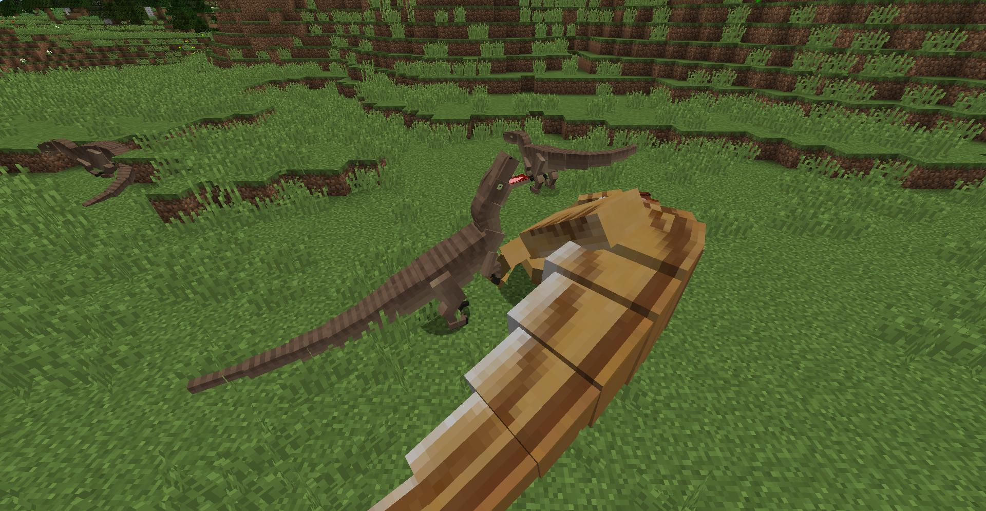 мод на динозавров в майнкрафт 1.7.10 #2
