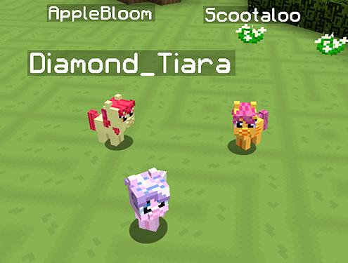 Mine Little Pony Friendship is Crafting Mod Screenshots 1