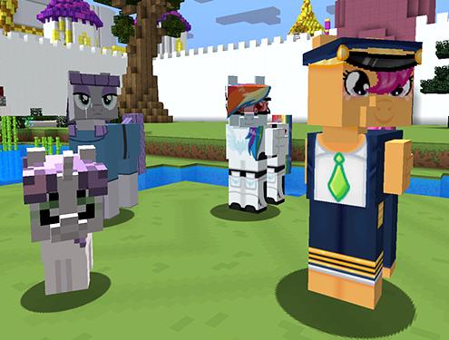 Mine Little Pony Friendship is Crafting Mod Screenshots 3