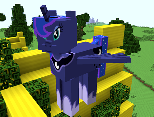 Mine Little Pony Friendship is Crafting Mod Screenshots 5