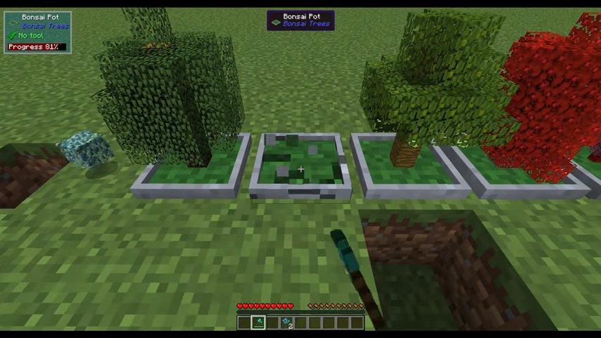 1.12.1 Bonsai Trees Mod Download | Planeta Minecraft